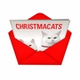 Hilarious Christmas Paper Greeting Card from NobleWorksCards.com - Christmacats image 2