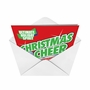 Humorous Christmas Paper Greeting Card from NobleWorksCards.com - Christmas Cheer image 2