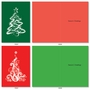 Creative Merry Christmas Greeting Card From NobleWorksCards.com - Christmas Tree Graphics image 1