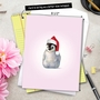 Creative Christmas Jumbo Greeting Card by John Butler from NobleWorksCards.com - Zoo Babies image 6