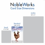 Funny Birthday Paper Card From NobleWorksCards.com - Classy Chick image 5