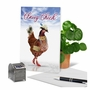 Funny Birthday Paper Card From NobleWorksCards.com - Classy Chick image 6