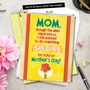 Funny Mother's Day Jumbo Greeting Card from NobleWorksCards.com - Cleaned My Room image 6