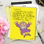 Hysterical Mother's Day Jumbo Printed Card by Joseph Kohl from NobleWorksCards.com - Cleaned My Room image 6