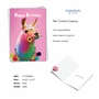 Stylish Birthday Paper Card From NobleWorksCards.com - Colorful Creatures image 2