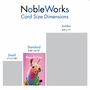 Stylish Birthday Paper Card From NobleWorksCards.com - Colorful Creatures image 5