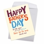 Hysterical Father's Day Jumbo Printed Greeting Card By Offensive+Delightful From NobleWorksCards.com - Dad Teacher image 2