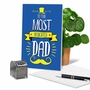 Humorous Birthday Father Card From NobleWorksCards.com - Dedicated Dad image 5