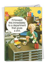 Department Gives a Sh*t-Administrative Professionals Day Card