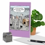 Funny Retirement Paper Greeting Card By Dave Coverly From NobleWorksCards.com - Desk Chain image 6