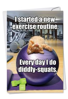 Diddly Squats Card