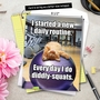 Humorous Retirement Jumbo Paper Card From NobleWorksCards.com - Diddly Squats image 6