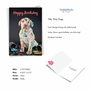 Creative Birthday Greeting Card From NobleWorksCards.com - Dirty Dogs - Accident image 2