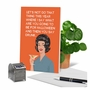 Funny Halloween Paper Greeting Card By Bluntcard From NobleWorksCards.com - Do That Thing image 6