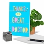 Creative Thank You Printed Card From NobleWorksCards.com - Doctor Gratitude image 6