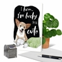 Funny Birthday Paper Card By Christine Anderson From NobleWorksCards.com - Dog Antics - Pillow Eater image 6