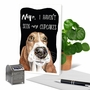 Hysterical Birthday Greeting Card By Christine Anderson From NobleWorksCards.com - Dog Antics - Sprinkle Nose image 6