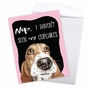 Hysterical Birthday Jumbo Printed Card By Christine Anderson From NobleWorksCards.com - Dog Antics - Sprinkle Nose image 3