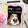 Hysterical Birthday Jumbo Printed Card By Christine Anderson From NobleWorksCards.com - Dog Antics - Sprinkle Nose image 6