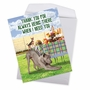 Funny Thank You Jumbo Card By Kerry Swope From NobleWorksCards.com - Dog Assistance image 2