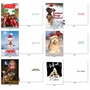 Humorous Merry Christmas Card By Assorted Artists From NobleWorksCards.com - Dog Holly Days image 4