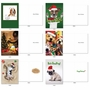Humorous Merry Christmas Card By Assorted Artists From NobleWorksCards.com - Dog Holly Days image 6