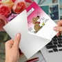 Hysterical Valentine's Day Greeting Card By Maria Scrivan From NobleWorksCards.com - Dog Lovers image 3