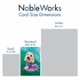 Humorous Birthday Card By Michael Quackenbush From NobleWorksCards.com - Dog Surfer image 5
