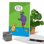 Funny Birthday Paper Greeting Card By Scott Metzger From NobleWorksCards.com - Dog Wishes image 6