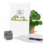 Funny Birthday Paper Greeting Card By Scott Nickel From NobleWorksCards.com - Dog Years image 6