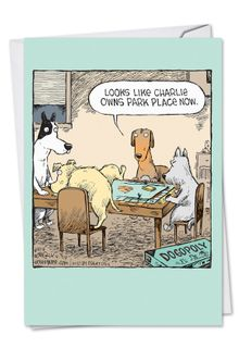Dogopoly Card