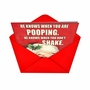 Hilarious Christmas Greeting Card from NobleWorksCards.com - Don't Shake image 2