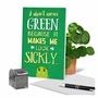 Hysterical St. Patrick's Day Printed Greeting Card From NobleWorksCards.com - Don't Wear Green image 6