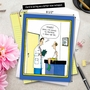 Hysterical Get Well Jumbo Printed Card by John Caldwell from NobleWorksCards.com - Dr. Yikes image 6