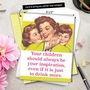 Hilarious Mother's Day Jumbo Greeting Card by Ephemera from NobleWorksCards.com - Drink More image 6