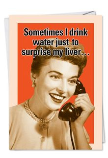 Drink Water Card