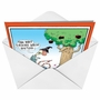 Hilarious Halloween Greeting Card by Glenn McCoy from NobleWorksCards.com - Driving While Hexing image 2