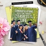 Hilarious Graduation Jumbo Greeting Card From NobleWorksCards.com - Easiest Part of Life image 6