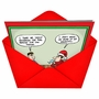 Hilarious Christmas Printed Card by Jon Carter from NobleWorksCards.com - Eggnostic image 2