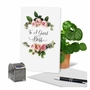 Creative Boss's Day Printed Greeting Card From NobleWorksCards.com - Elegant Flowers image 6
