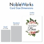 Creative Boss's Day Jumbo Greeting Card From NobleWorksCards.com - Elegant Flowers image 5