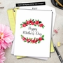 Creative Mother's Day Jumbo Printed Greeting Card From NobleWorksCards.com - Elegant Flowers image 6