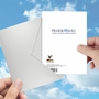 Hysterical Friendship Greeting Card From NobleWorksCards.com - Emotional Support Dog image 4