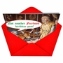 Funny Christmas Greeting Card from NobleWorksCards.com - Facebook Birthday Message image 2