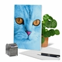 Creative Miss You Printed Card From NobleWorksCards.com - Fancy Feline Faces image 6