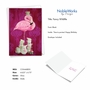 Creative Birthday Printed Card By Heather Gauthier From NobleWorksCards.com - Fancy Wildlife - Flamingo image 2