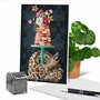 Creative Birthday Printed Greeting Card By Heather Gauthier From NobleWorksCards.com - Fancy Wildlife - Giraffe image 6