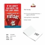 Humorous Birthday Card From NobleWorksCards.com - Fat Lady image 2