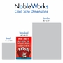 Humorous Birthday Card From NobleWorksCards.com - Fat Lady image 5