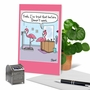 Humorous Birthday Paper Greeting Card By Dave Blazek From NobleWorksCards.com - Flamingo Scale image 6